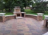 Fieldstone Patio, Compact Fireplace, Lakeland Lighted ...