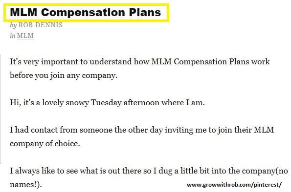 Mlm Compensation Plans - Inspirational Interior style concepts for