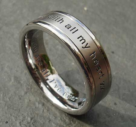 Guy Wedding Bands Gallery Of Un Lado Asi Wood Ring Wood