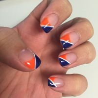 Denver Broncos Nails #BroncosCountry | My Denver Broncos ...