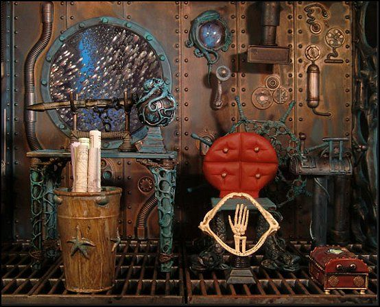 1000+ Images About Steampunk Furniture & Decor On