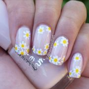 ideas daisy nails