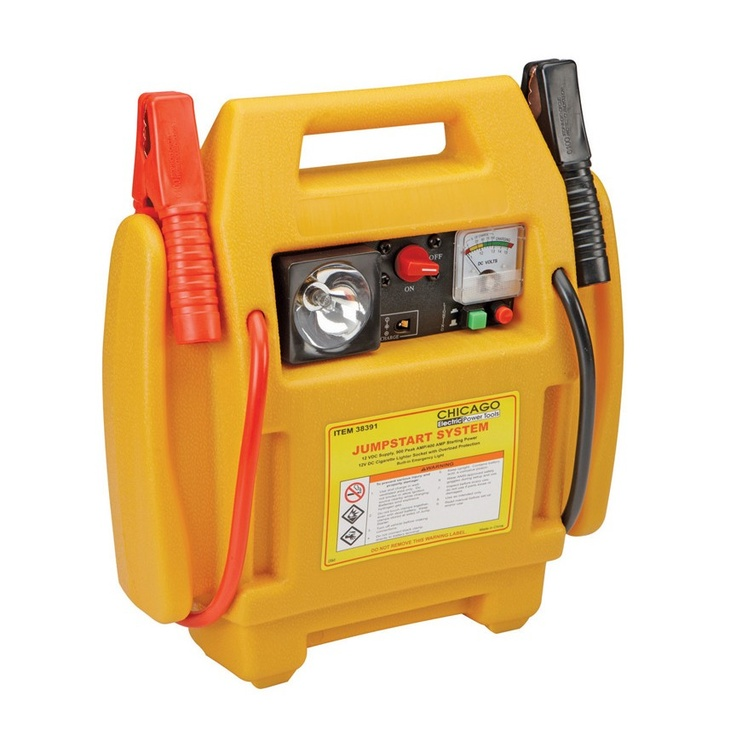 3in1 jump starter and power supply portable self