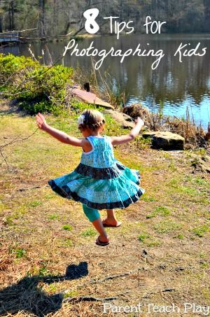 tips for photographing kids ~ great for moms just wanting to get a good shot of