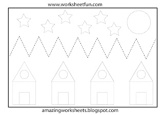 17 Best images about Preschool Tracing & Cutting on