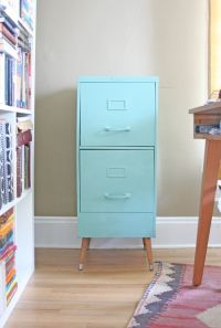 17+ best ideas about Vintage File Cabinet on Pinterest ...