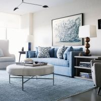 25+ best ideas about Blue sofas on Pinterest | Blue living ...