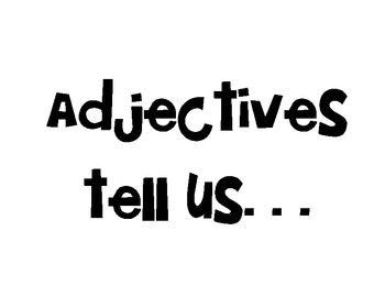 Best 25+ Adjective anchor chart ideas on Pinterest