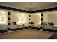 Spacious basement bunk room good for people to stay the ...