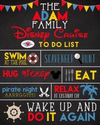 PRINTABLE Disney Cruise Door Sign - DIY Disney Cruise Door ...