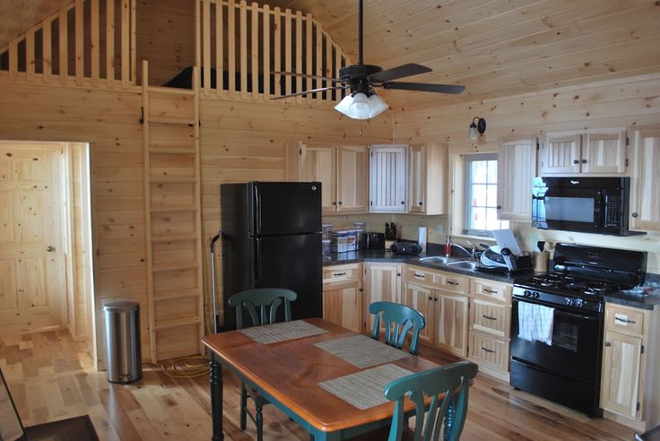 deluxe lofted barn cabin  Google Search  Small and Tiny Homes  Pinterest  Cabin Sheds and