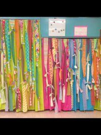 Classroom curtains | Work | Pinterest | Shelves, Blue and ...