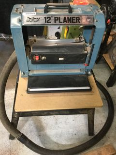 Reliant Nn912p 12 Inch Bench Planer Condition Tooling