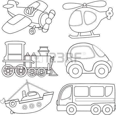 1000+ images about * Transportation Silhouettes, Vectors