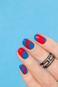 25+ best ideas about Abstract nail art on Pinterest
