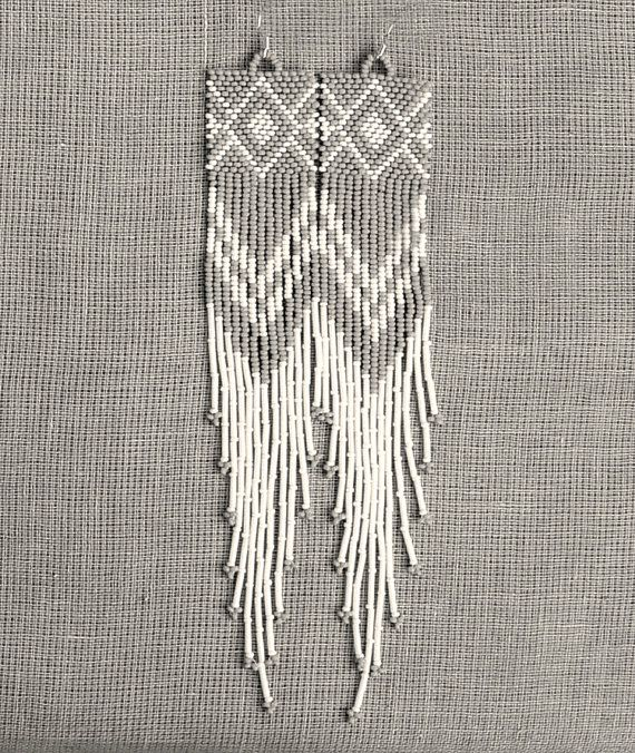 1000+ images about Beaded Ear Candy--seed/bugle beads on