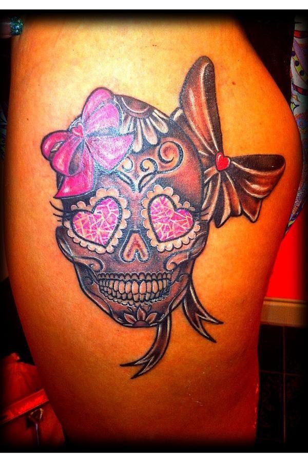 girly skull tattoos - google