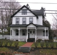 Pix For > Black And White Painted House | painting my ...