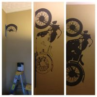 22 best ideas about wall art on Pinterest | Motorcycle art ...