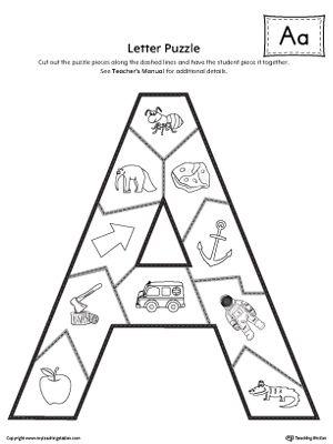 17 Best images about Alphabet Worksheets on Pinterest