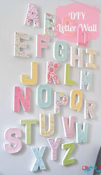 25+ best Big Wall Letters trending ideas on Pinterest ...