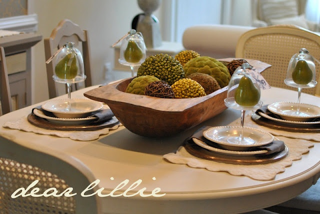 Moss Balls For Dining Room Centerpiece Home Sweet Home