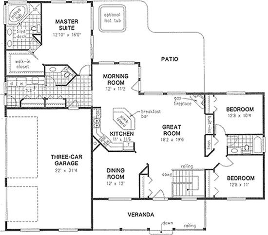 17+ images about house plans: small(er)... on Pinterest