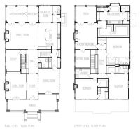 american foursquare floor plans - Google Search   House ...