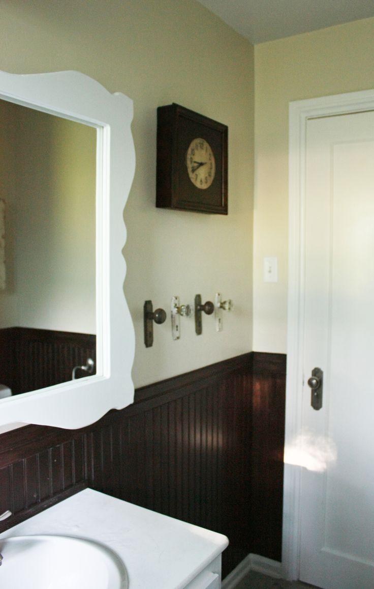 vintage bathrooms  bathroomvintage  love the dark