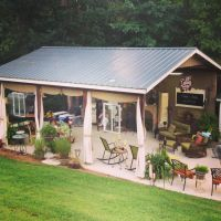 Backyard Shed for gatherings or parties! 'Callahan Country ...