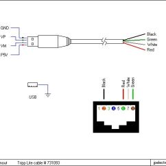 Rj45 B Wiring Diagram Gibson Les Paul Studio Deluxe Apc Usb To Cable Pinout Rj11 Diagram. Splitter ...
