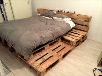 25+ best ideas about Pallet platform bed on Pinterest