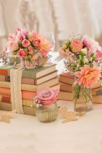 Best 20+ Shabby Chic Centerpieces ideas on Pinterest