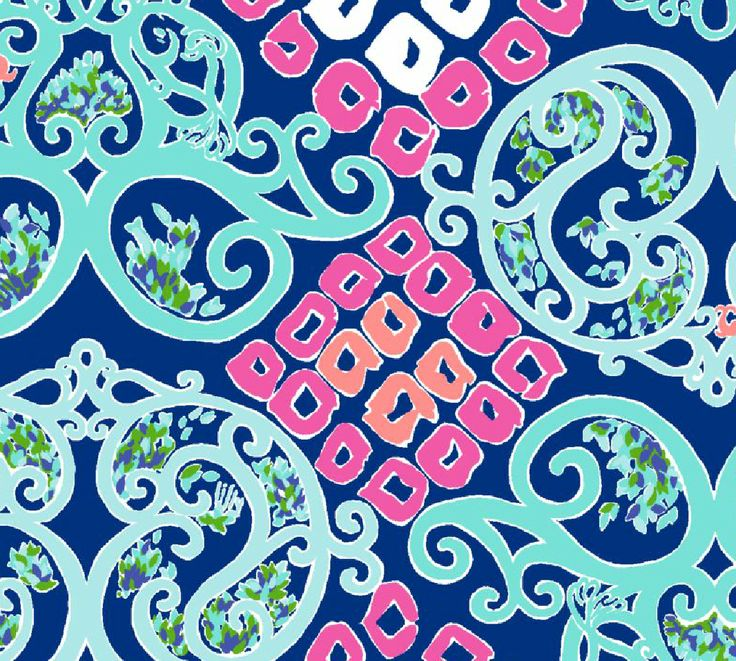 Fall Southern Prep Wallpapers Lilly Pulitzer Bright Navy Behind The Gate Spring 2014