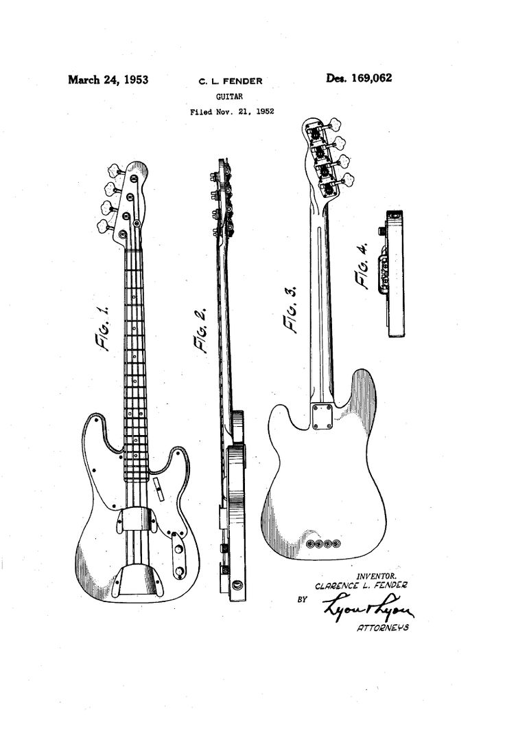 Fender_Precision_Bass_'51_patent_sketch_(D169062).png 800