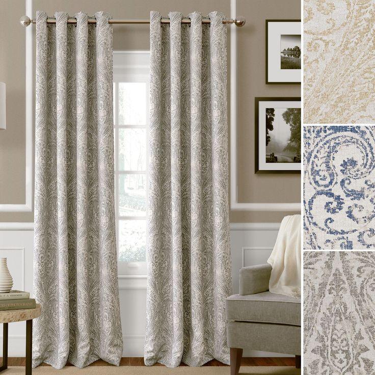 Julianne Room Darkening Grommet Curtain Panels  Home Home decor and Decor