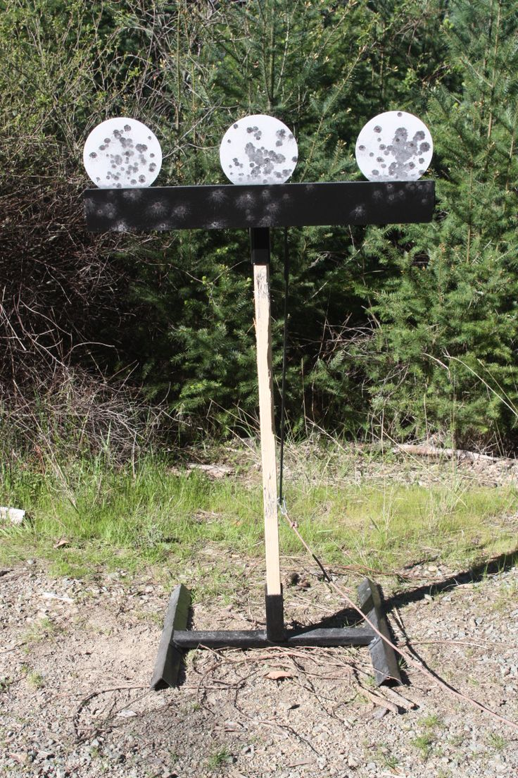 How To Build A Plate Rack For Shooting WoodWorking