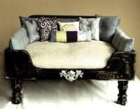 Luxury Designer Black Elegance Dog Bed - Beds, Blankets ...