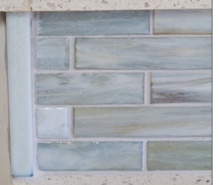 Lunada Bay Tile  Agate Glass  Lucca Pearl  Design Awesome Tile  Pinterest  Glasses Tile