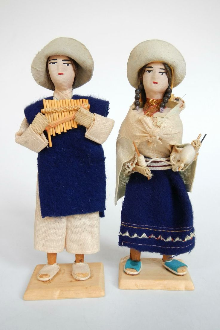 Ecuador  South american dolls in national costume  Dolls Rehomed  Pinterest  Costumes Dolls
