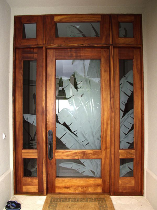 Greg Davidge Maui Koa Entry  For the Home  Pinterest