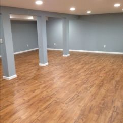 Kitchen Runner Gray Mat Our Basement With Resort Teak By Shaw Laminate Flooring ...