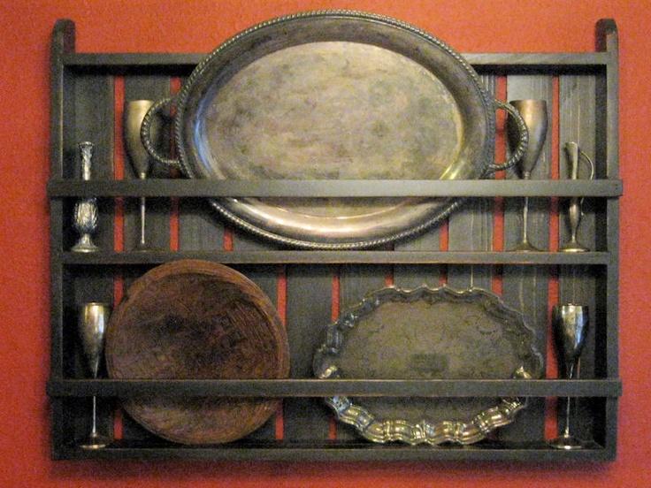 17 Best Images About Primitive Plate Racks On Pinterest