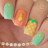 25+ best ideas about Pineapple Nails on Pinterest | Beach ...