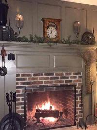 1000+ ideas about Primitive Fireplace on Pinterest | Faux ...
