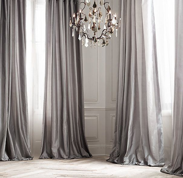 25 Best Ideas About Silk Curtains On Pinterest Pink Curtains