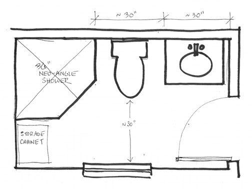 25+ best ideas about 5x7 Bathroom Layout on Pinterest