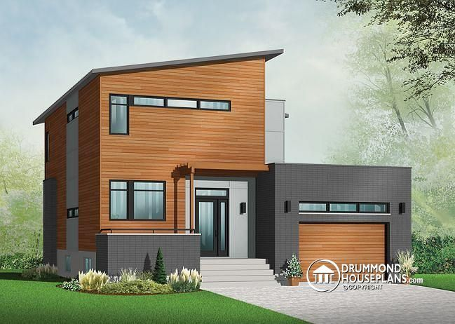 1000+ Images About Modern House Plans & Contemporary Home