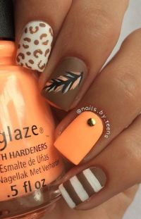 1000+ ideas about Thanksgiving Nail Art on Pinterest