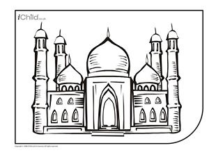 71 best images about Mosque Illustration on Pinterest